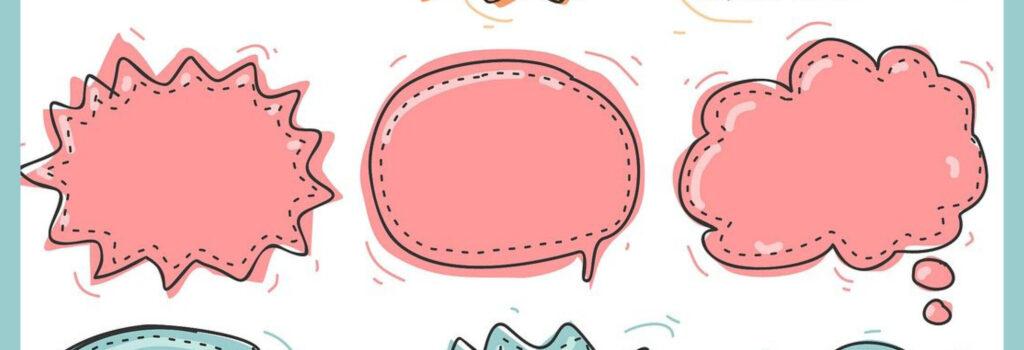 Kommunikation als Sprechblasen